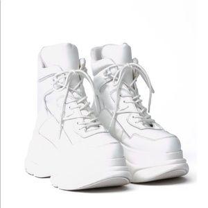 Jeffery Campbell Da Brat Sneaker Boots
